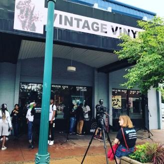 Story Stitchers perform at Gateway Delmar Loop ArtsFest