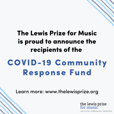 Recipient Announcement - COVID-19 Community Response Fund (2)
