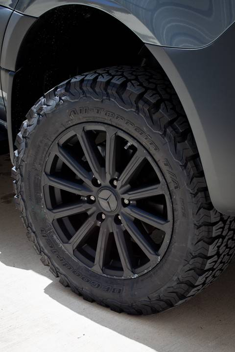 Stealth Tire and Wheel