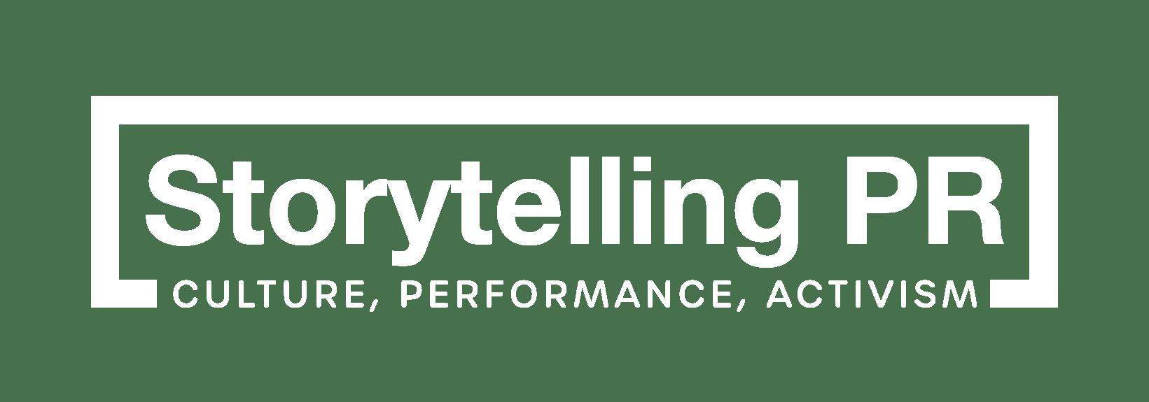 Storytelling PR Logo (white)