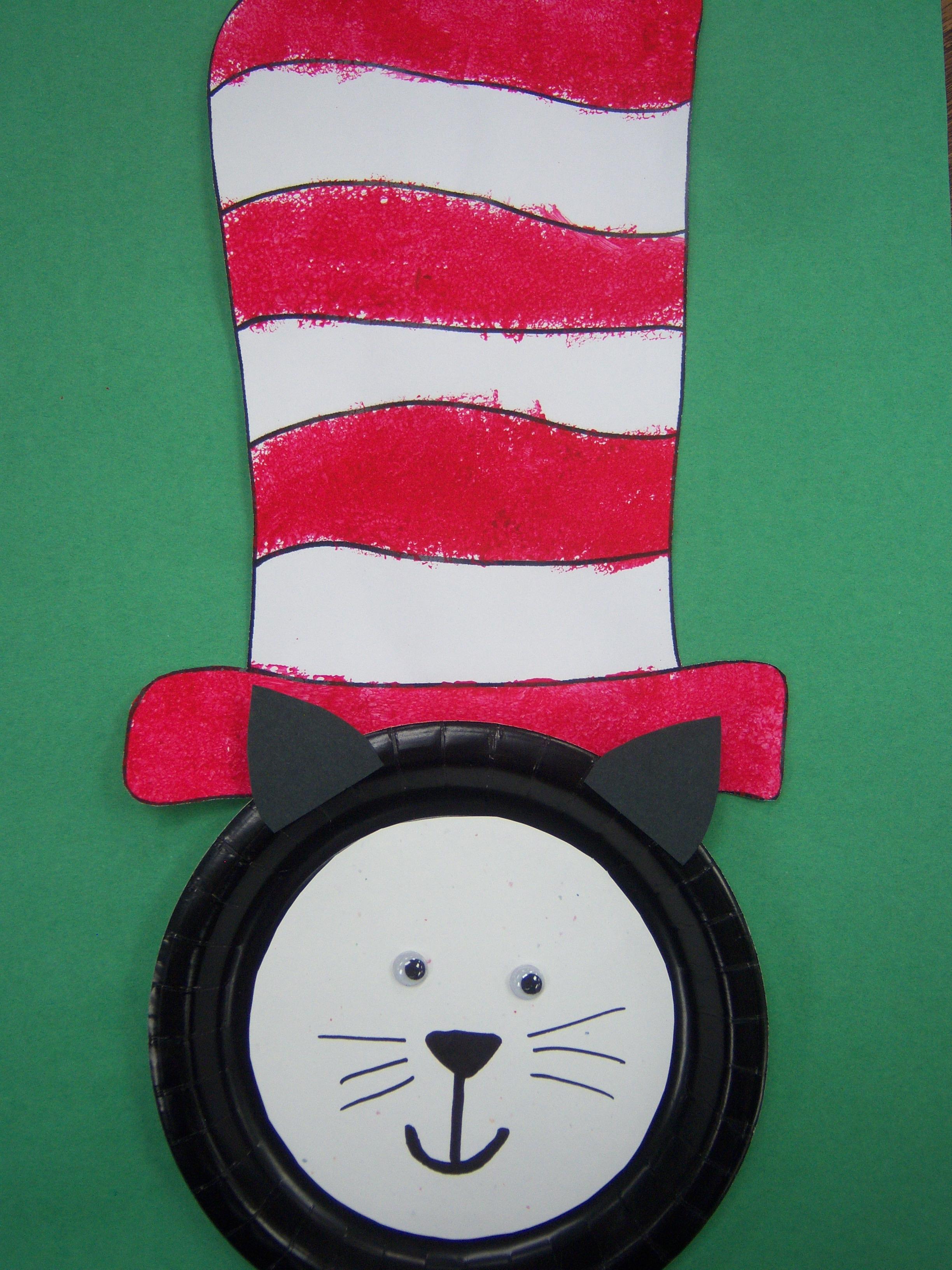 Kids Art Dr Seuss Storytime Katie