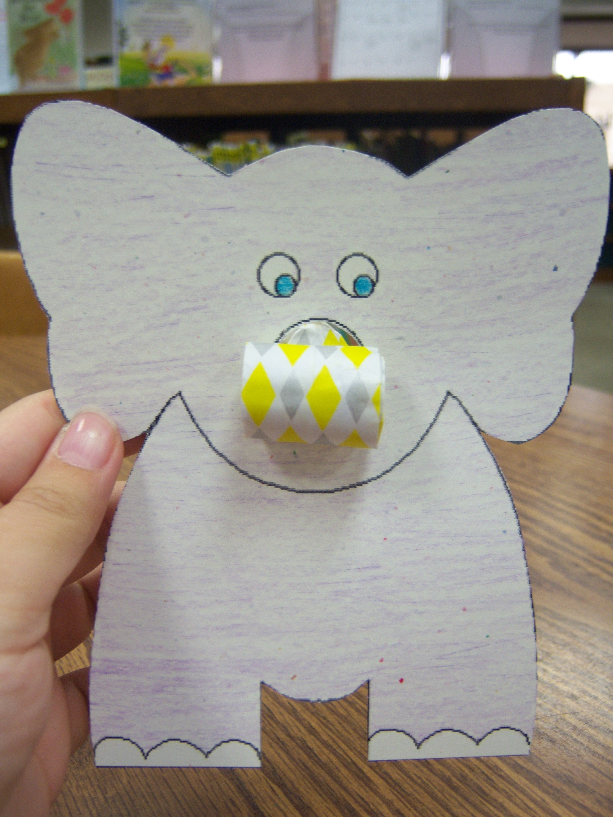 Elephant Crafts For Preschoolers