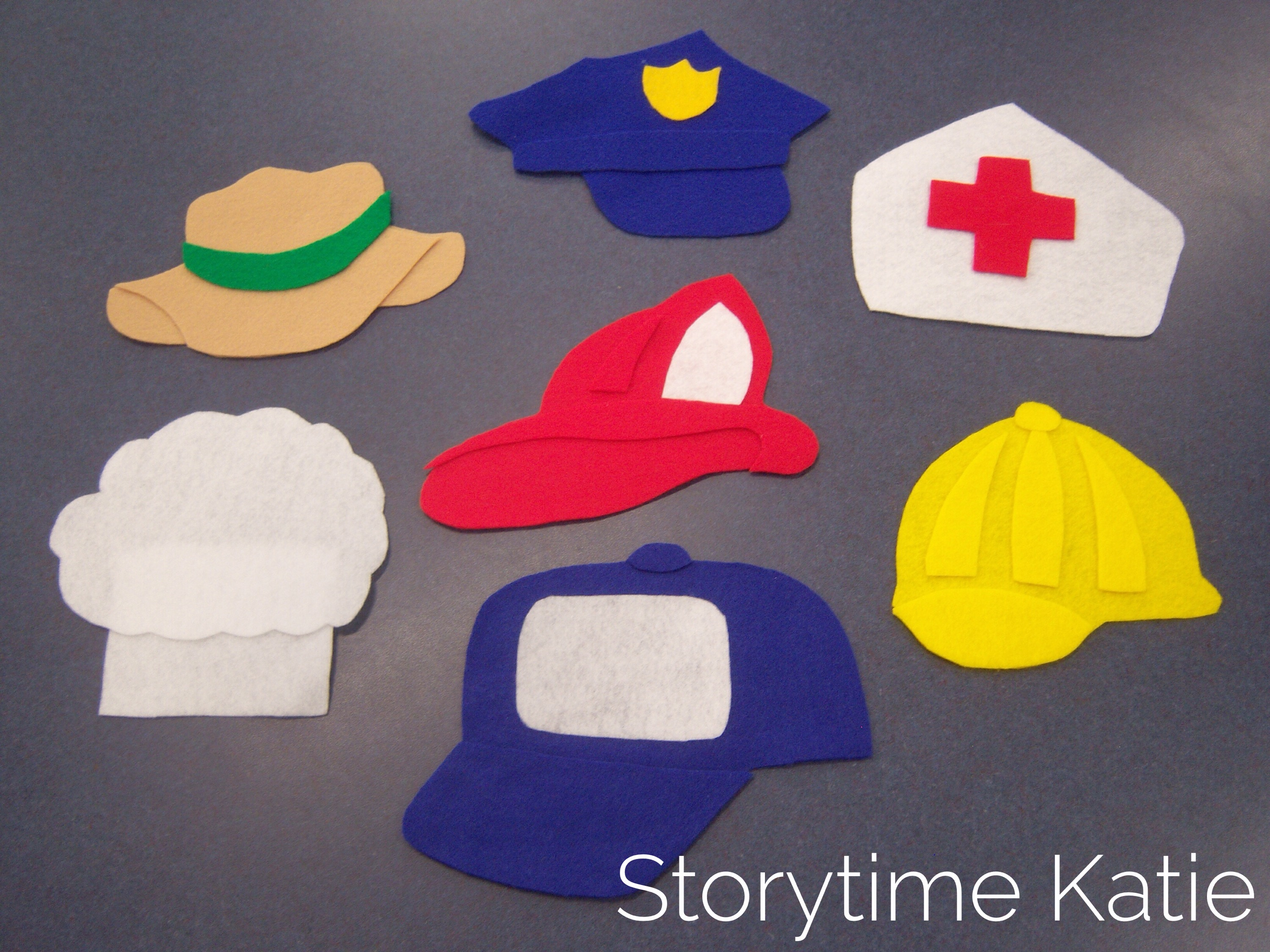 Flannel Friday Community Helpers Storytime Katie