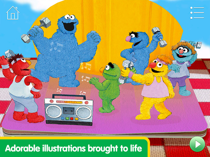 Elmo Loves You StoryToys Kids Apps