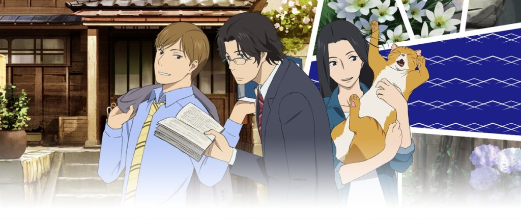 """The anime """"Fune wo Amu"""" (The Great Passage) is based on a bestsellingnovel by Miura Shion."""