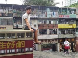 Hanging out at 'The Peak', Hong Kong