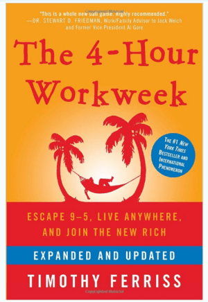 The 4-hour Workweek book by Tim Ferriss