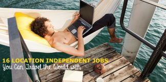 Location Independent Jobs for nomads, travellers and digital nomads