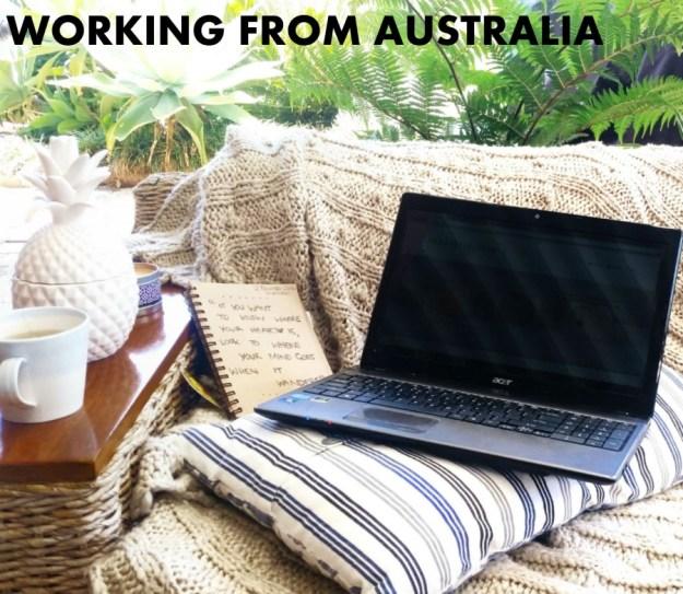 Location Independent digital nomad lifestyle in Australia