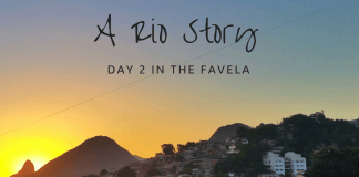 Travel Vlog - Stay/visit a favela