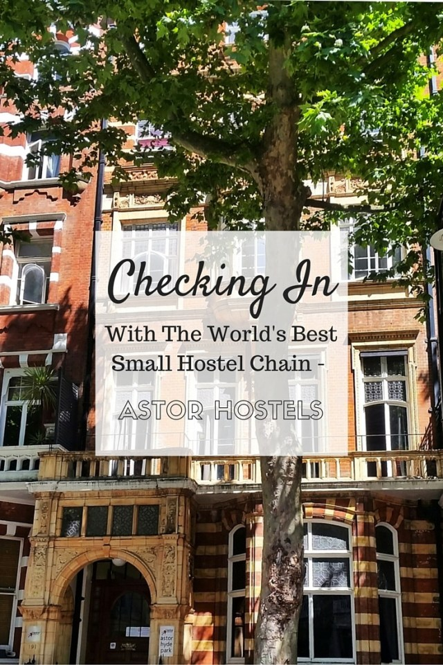 Checking in with the world's best small hostel chain! Here's a review of Astor Hyde Park Hostel in London. If you're planning a trip to London on a budget, this is the ideal place to rest your sleepy head...