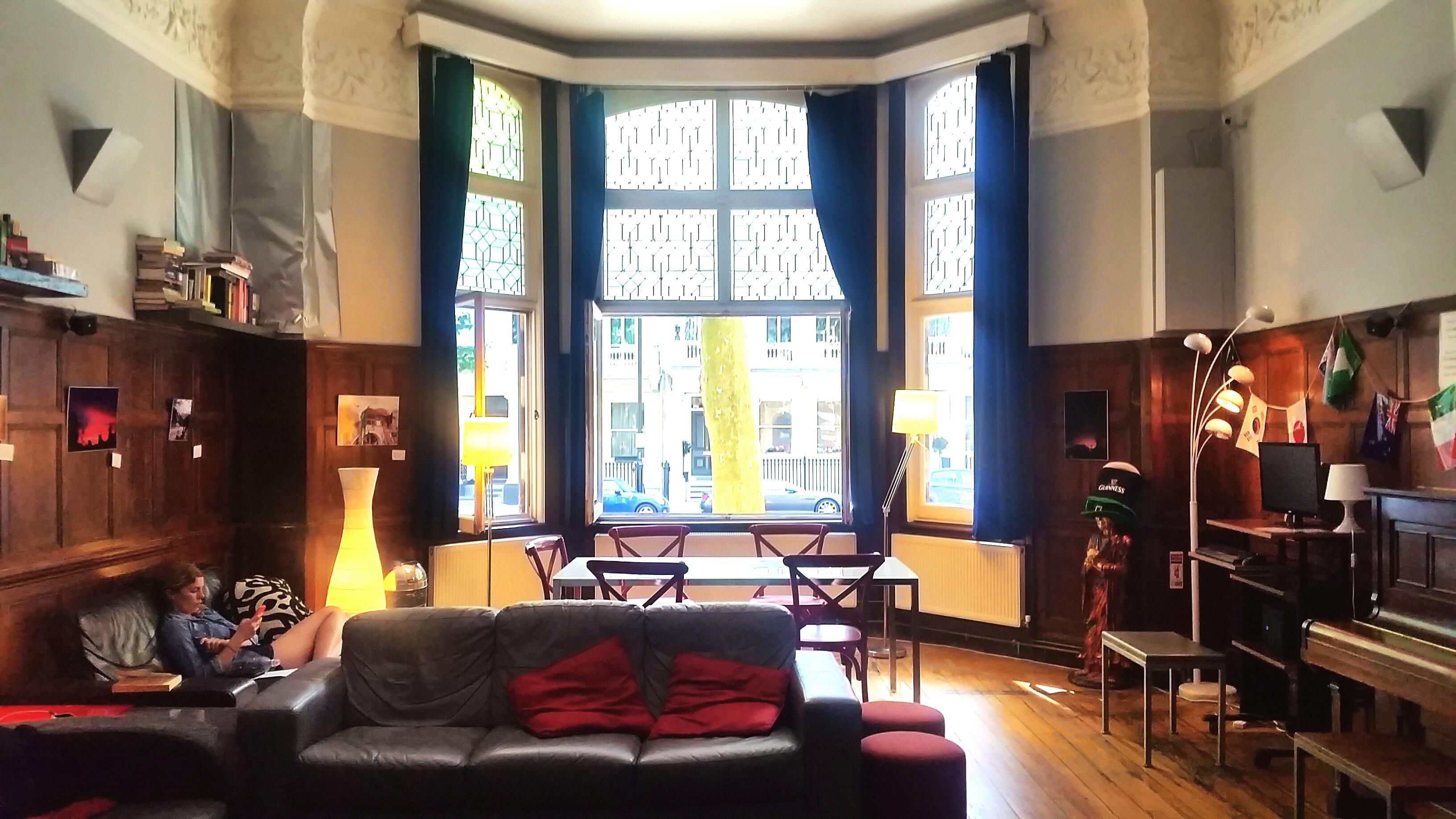 Astor Hyde Park Review Hostel Living Room