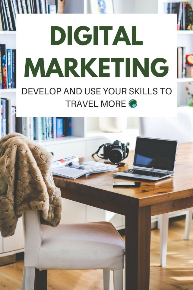 Digital marketing is always changing & evolving. Fortunately for you, this means that you can jump in now, learn the skills and use them to travel the world! Click through to read now...