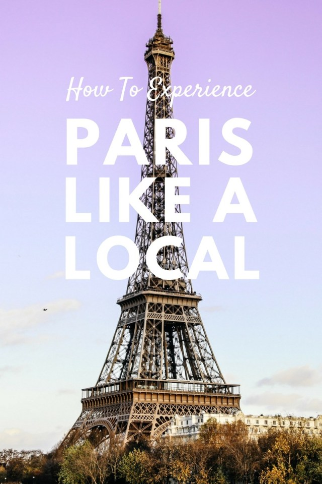 Ohh to experience the city of romance like a local... <3 Planning a trip to Paris and in need of tips and advice? Today, American expat, Amy Hayes shares her top Paris travel tips after living in the city for 3 years. Click through to read now!