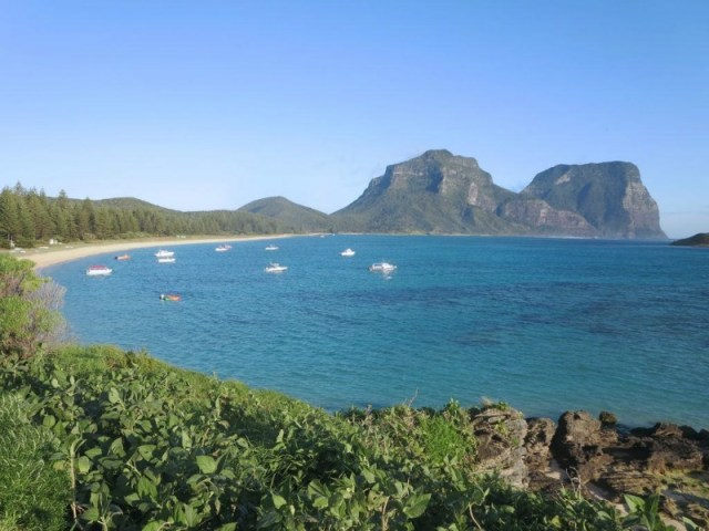 Amazing secret beaches - Lord Howe Island