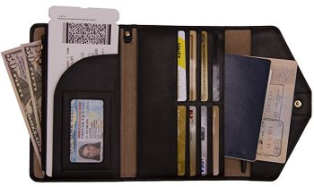 Things we can't travel without - travel wallet