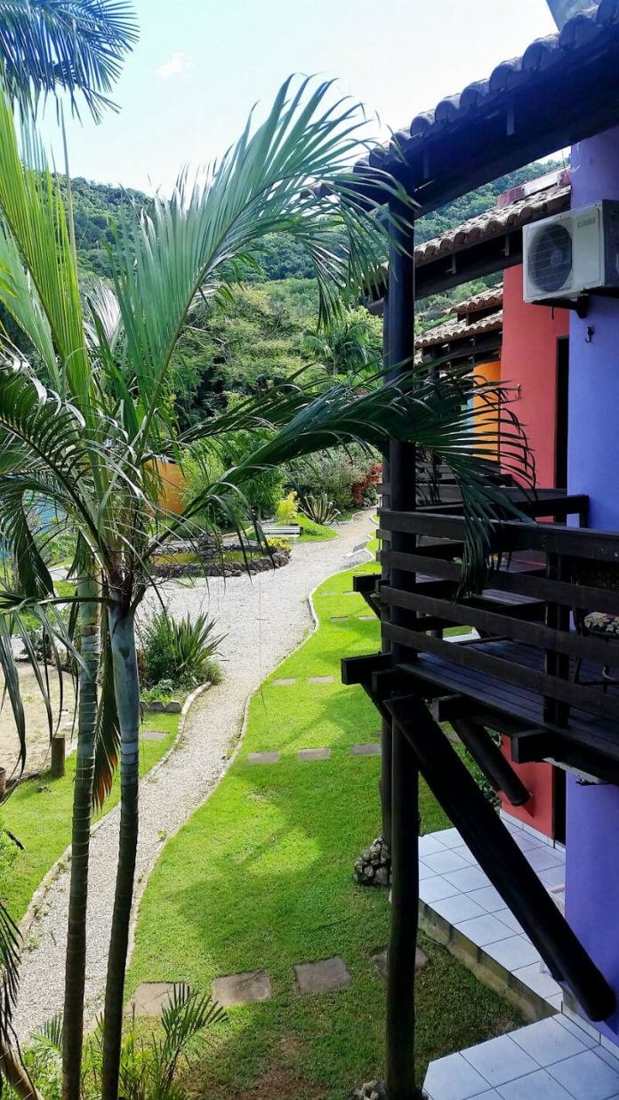 Grounds at Hotel Saint Germain, Florianópolis - Are you looking for an affordable yet relaxing hotel in Florianópolis, Brazil? Check out our Florianópolis hotel review of Hotel Saint Germain, located on the lake in Lagoa da Conceicão!