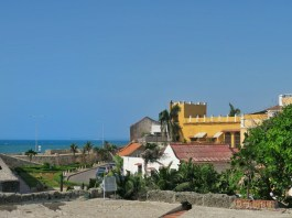 The view from Café del Mar in Cartagena Colombia | A Quick Guide To Cartagena Colombia Travel In 2016