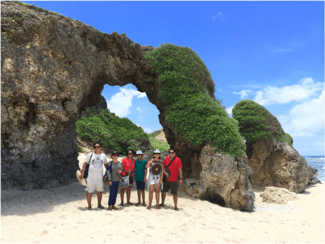 Ahao Natural Arch and white beach at Sabtang Island - Philippines Travel Tips: Essential Things To Know Before Going