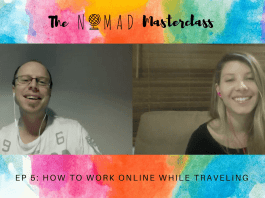 How to work online while traveling