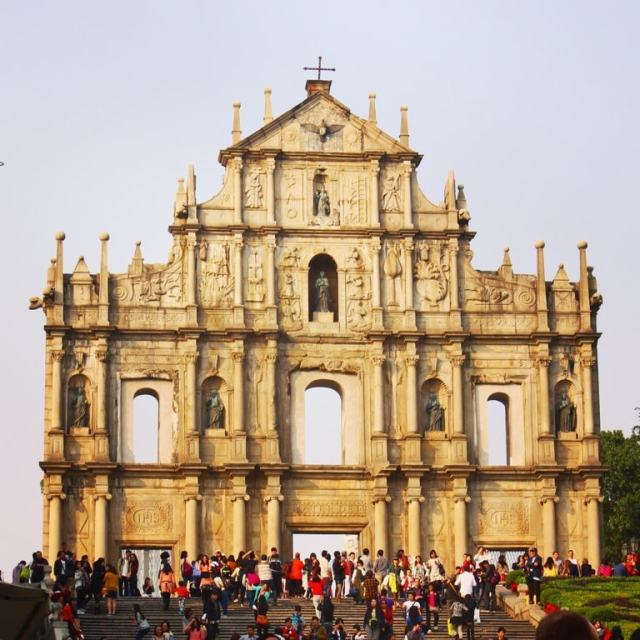 Macau St. Pauls Ruins - Hong Kong travel tips