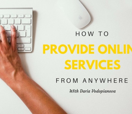 How to provide online services from anywhere