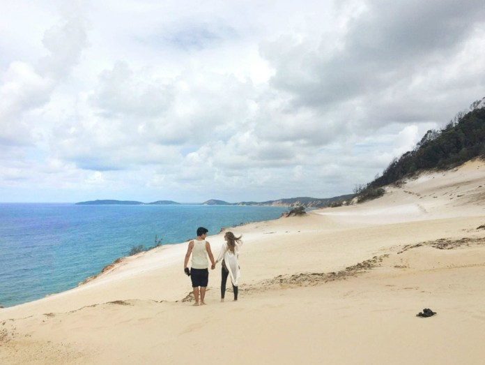 Long Term Travel With A Baby | Rainbow Beach, Australia