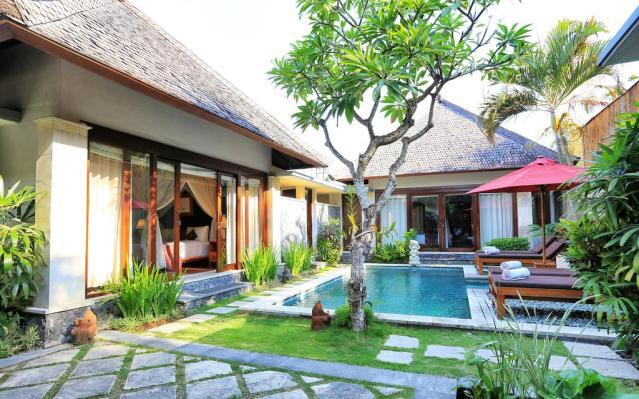 Bali private pool villas sanyas