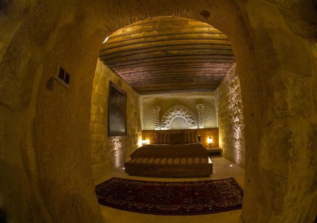 Cave hotels in Cappadocia kayakapi cave hotel cappadocia