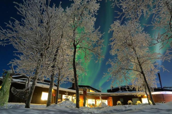Northern lights hotel Mattarahkka