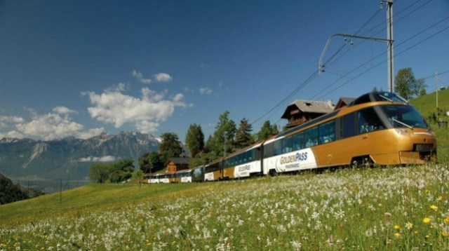 Golden Pass Line: Train trips in Switzerland