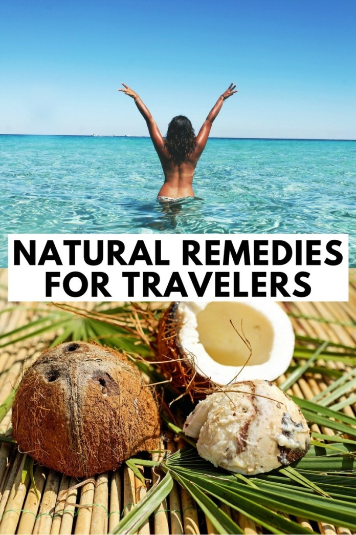 Coconuts pretty much solve everything <3... There are a number of common traveler health issues we face on the road... From sunburn to food poisoning, here's how to treat the nasties with natural remedies. (click through to find out)