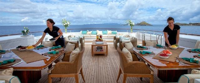 Best travel jobs - Yacht Crew