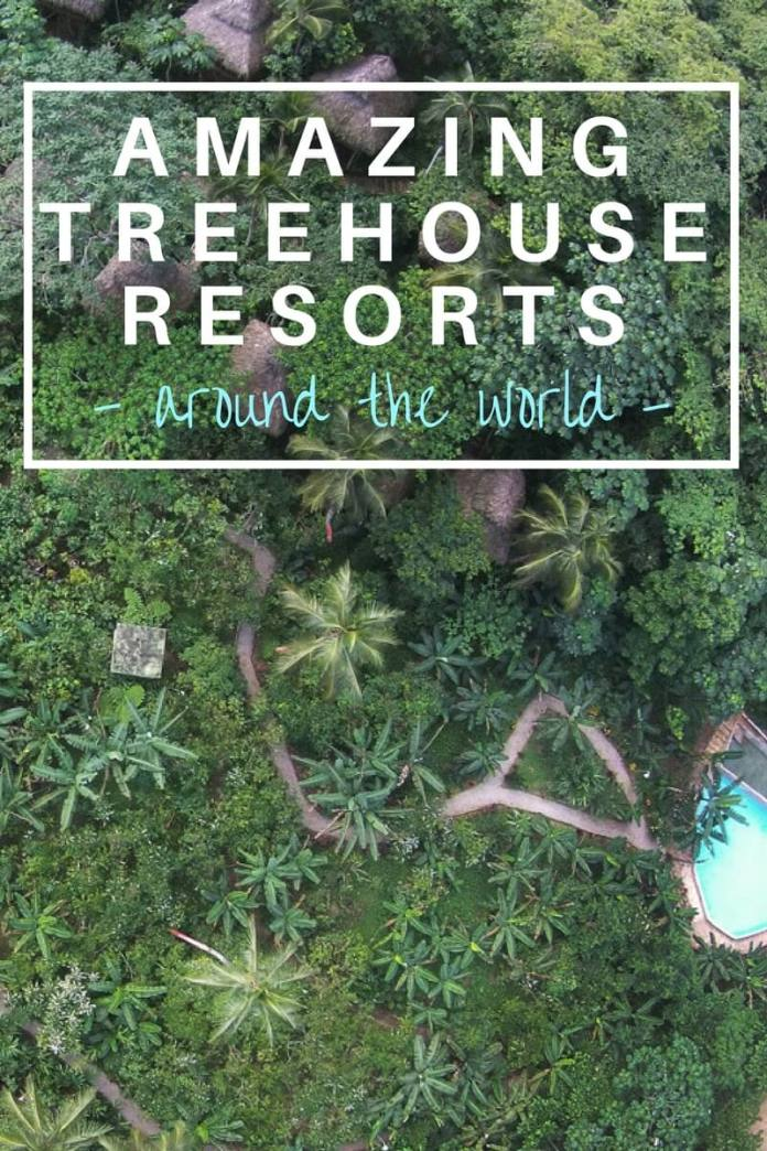 Get back to nature and immerse yourself in mother earths beauty by staying in one of these incredible treehouse hotels around the world. Click through to view...