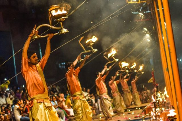 Varanasi Ganges - 10 reasons to travel to India
