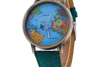 Oceana world map watch green background 550 storyv travel lifestyle oceana world map watch giveaway turquoise green gumiabroncs Gallery