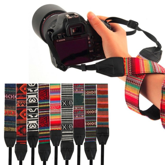 Aztec Camera Strap For DSLR - Summer Travel Gifts For Female Travelers