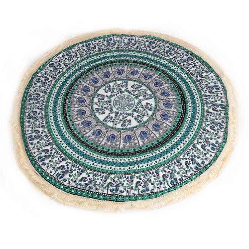 Kaleidoscope Mandala Tassel Roundie - Summer Travel Gifts For Female Travelers