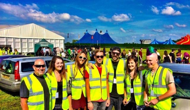 Best travel jobs: Festival worker