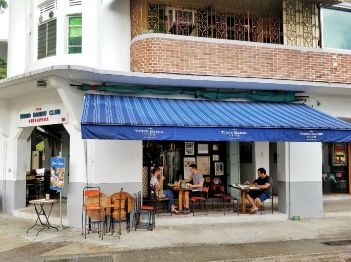 48 hour Singapore travel itinerary: The Tiong Bahru Club