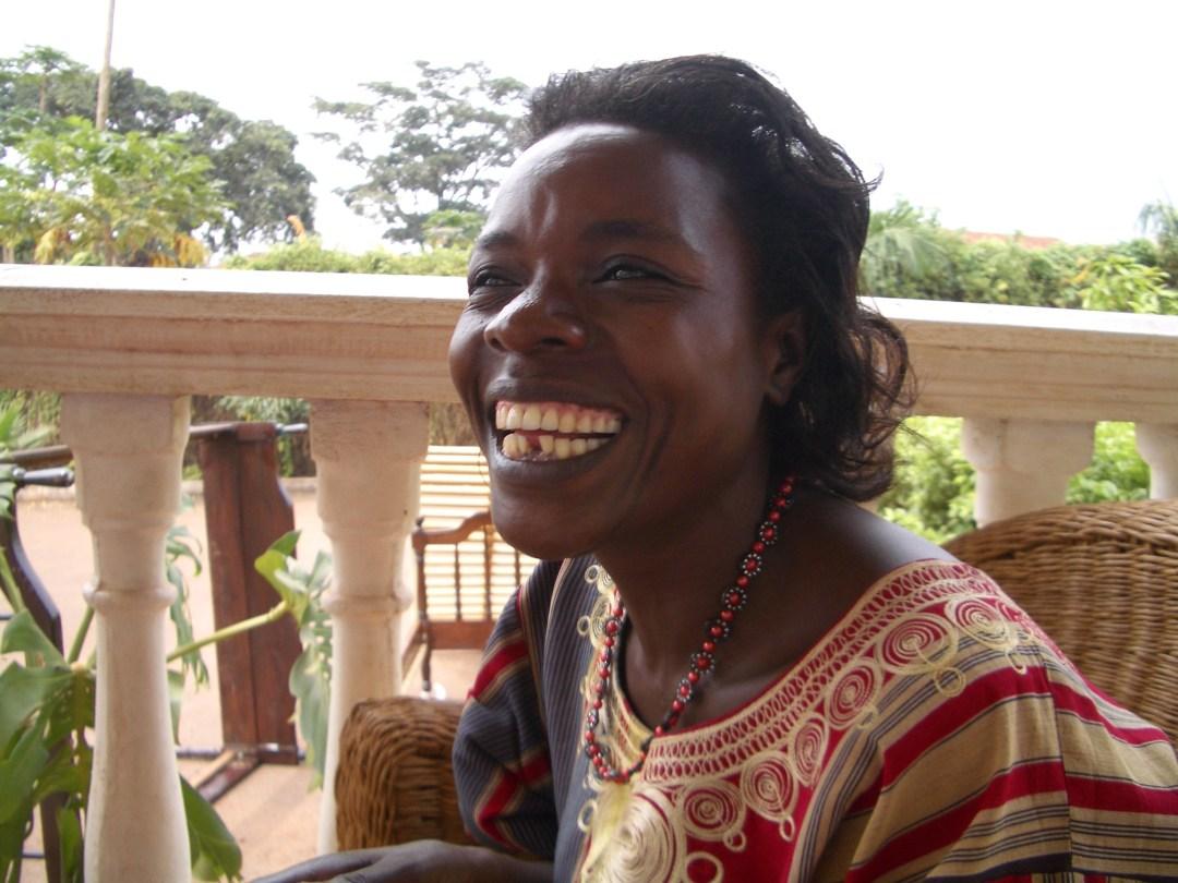 Namakasa Rose, one of the beaders Connie met