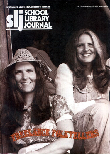 Connie and Barbara Freeman on SLJ Cover
