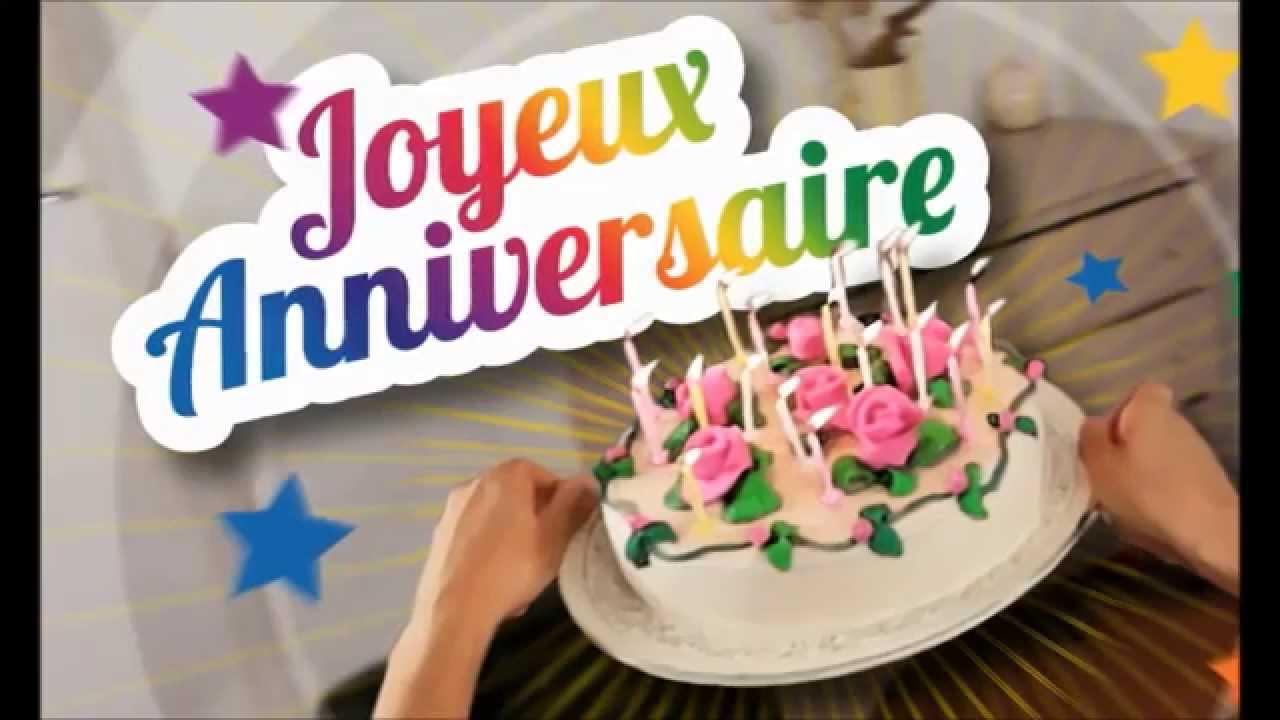 تهنئة عيد ميلاد صديق غالي بالفرنسية