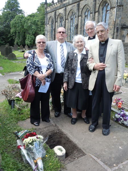 RIP Revd William David Thomas, former Vicar of Bollington