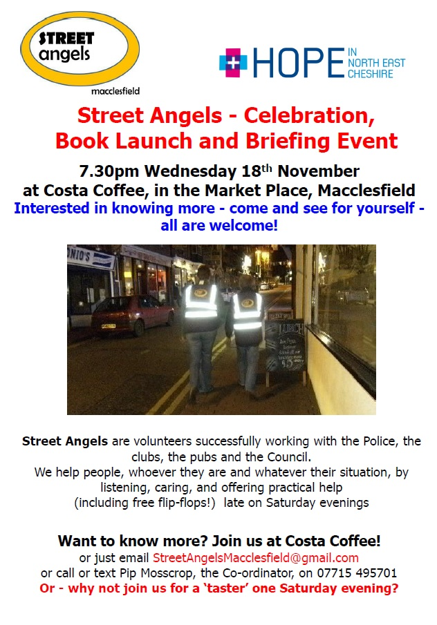 Macclesfield Street Angels – could YOU help?