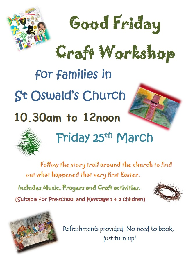 Good Friday – Craft trail for children