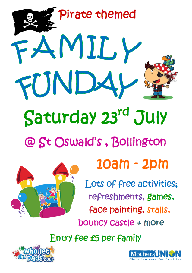 Family Fun Day – Saturday 23 July