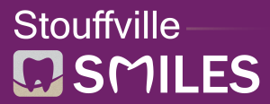 Stouffville Smiles Logo Dark Background