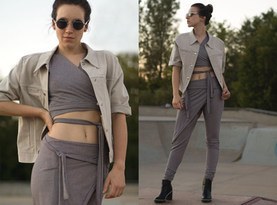 """Senior Ilse Wolbank's designs in """"athleisure"""" received third place in Cotton Incorporated National Student Design Competition. Contributed/ Stout Communications"""