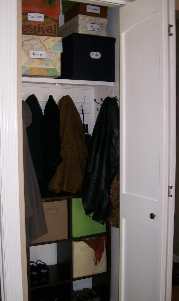 Turn Your Closet Into A Mini Mud Room StowampTellU